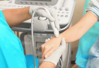 Live Hand-Wrist Ultrasound